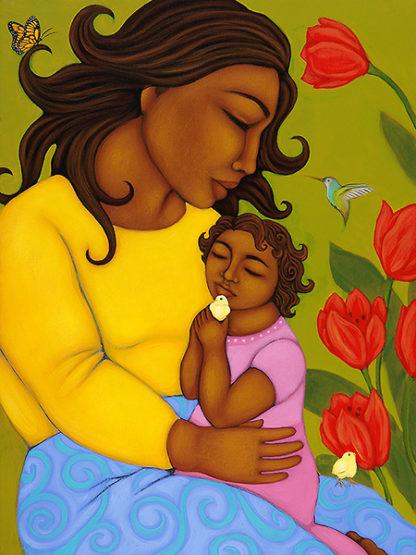 A292D - Adams, Tamara - Mother and Child