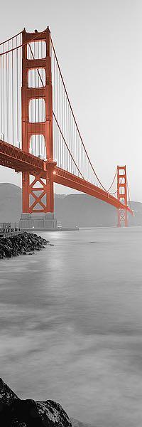 ABSFV02A - Blaustein, Alan - Golden Gate Bridge at Dawn (A)