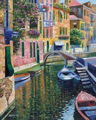 B2701D - Behrens, Howard - Romantic Canal