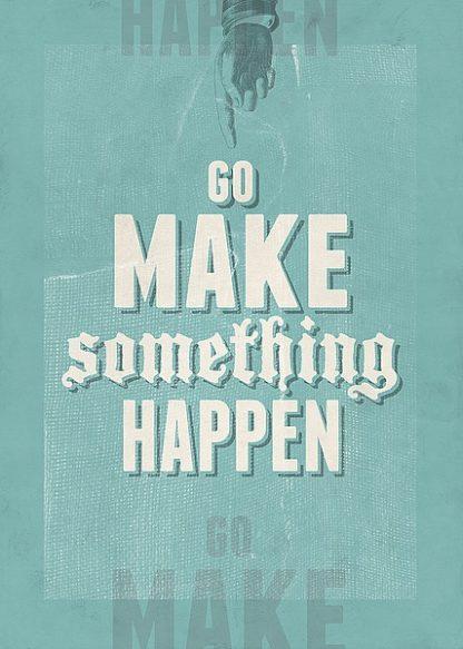 B3031D - Beer, Hannes - Go Make Something Happen