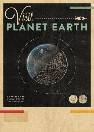 B3044D - Beer, Hannes - Visit Planet Earth