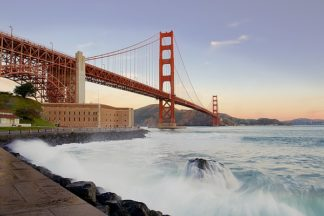 B3126D - Blaustein, Alan - Golden Gate Bridge at Dawn