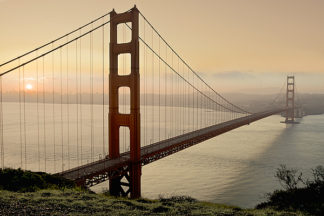 B3127D - Blaustein, Alan - Golden Gate Sunrise #2