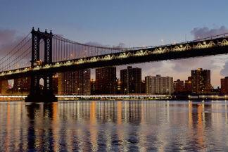 B3246D - Blaustein, Alan - Manhattan Bridge at Dawn