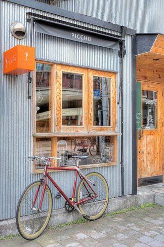B3411D - Blaustein, Alan - Red Bicycle, Japan