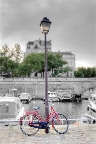 B3426D - Blaustein, Alan - Bicycle St Martin Canal #1