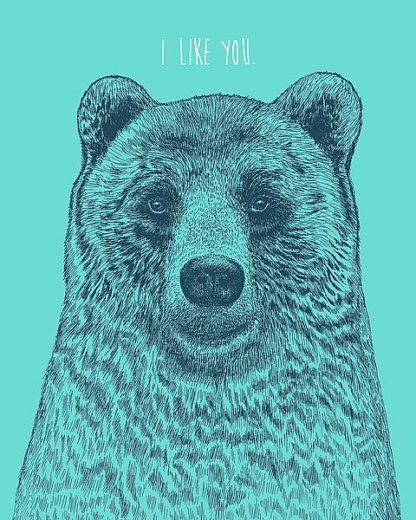 C1150D - Caldwell, Rachel - I Like You Bear