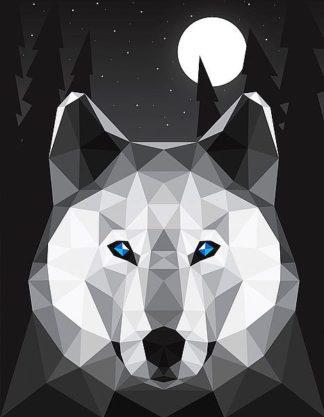 D1000D - Davies Babies - Tundra Wolf