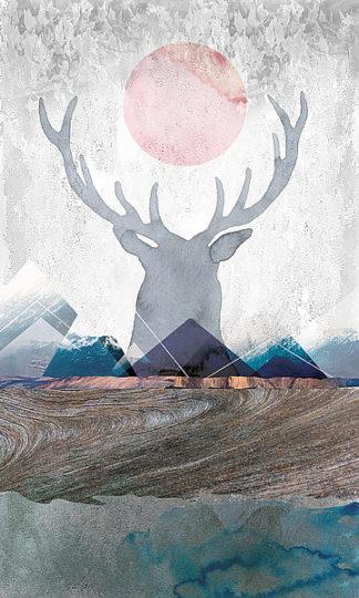D961D - Duncan-He, Louis - Deer and Mountains 2