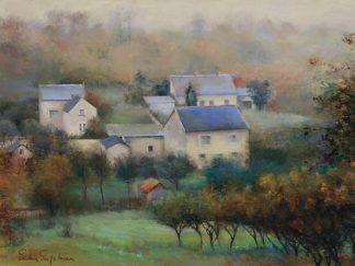 E163D - Engelman, Esther - Countryside Hamlet