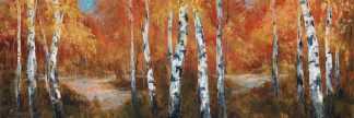 F345D - Fronckowiak, Art - Autumn Birch II