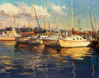 F479D - Furtesen - Boats on Glassy Harbor