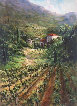 F497D - Fronckowiak, Art - Tuscany Vineyard