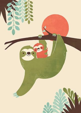 F632D - Fleck, Jay - Mama Sloth