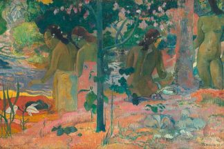 G800D - Gauguin, Paul - The Bathers