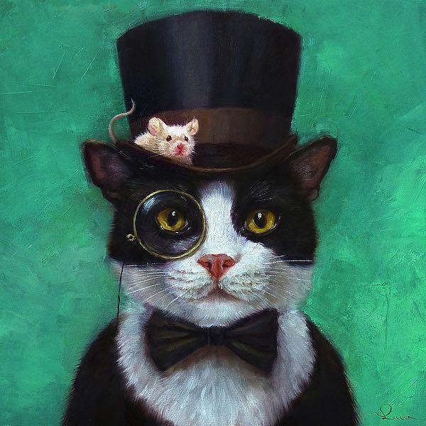 H1188D - Heffernan, Lucia - Tuxedo Cat