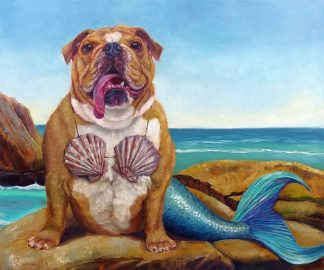 H1192D - Heffernan, Lucia - Mermaid Dog