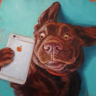 H1245D - Heffernan, Lucia - Dog Selfie