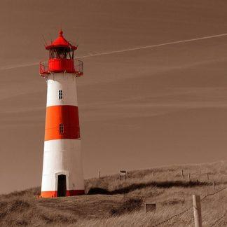 IN31351 - PhotoINC Studio - Red & White Lighthouse