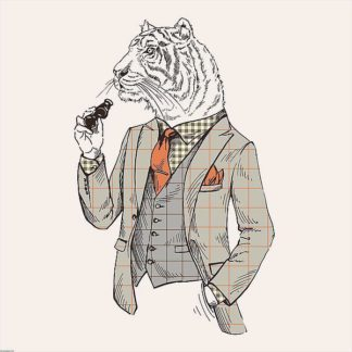 IN32136 - GraphINC - Tiger-man