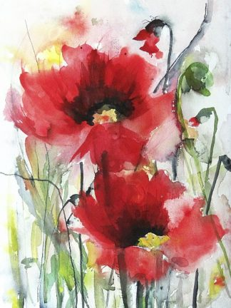 J307D - Johannesson, Karin - Red Poppies