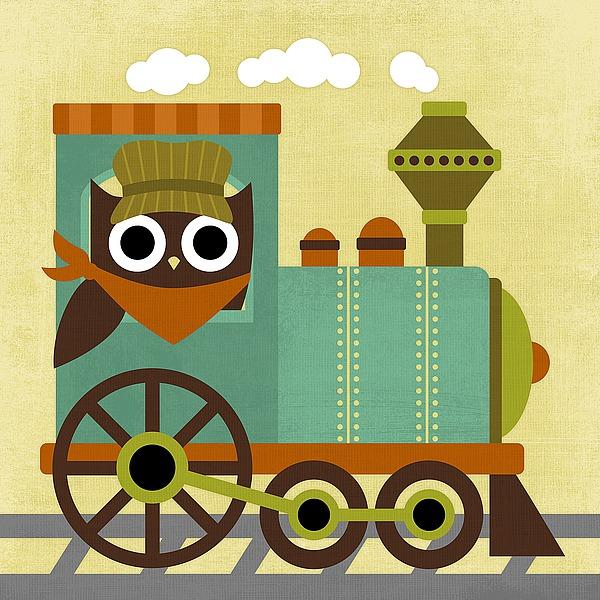 L695D - Lee, Nancy - Owl Train Conductor