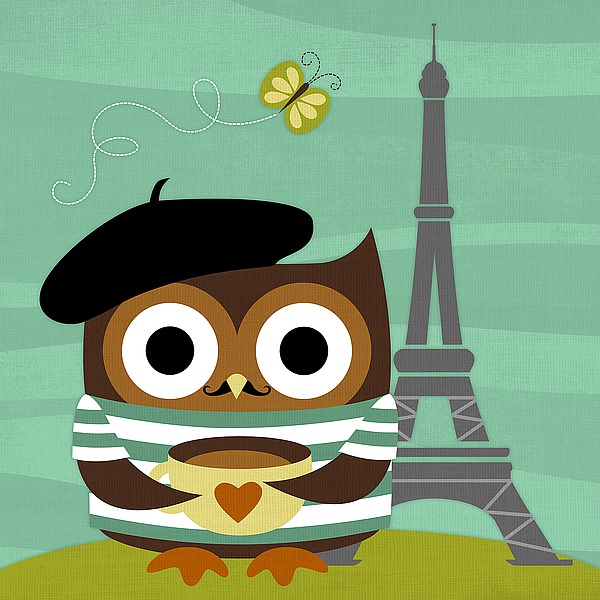 L759D - Lee, Nancy - Owl in Paris