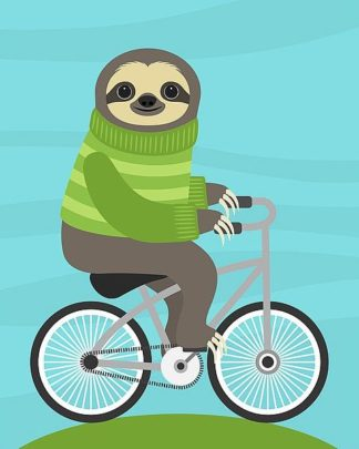 L821D - Lee, Nancy - Cycling Sloth