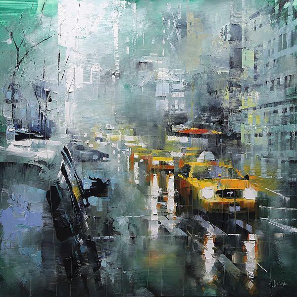 L829D - Lague, Mark - New York Rain