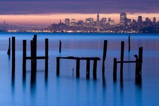 M1024D - Murray, Jeffrey - Bay Pilings – Sausalito