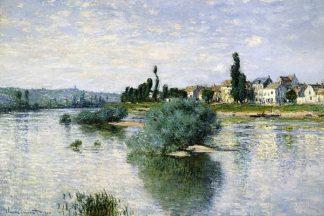 M1393D - Monet, Claude - The Seine at Lavacourt
