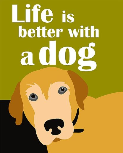 O163D - Oliphant, Ginger - Life is Better with a Dog