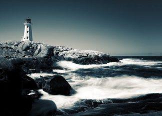 P1125D - Pollard, David W. - Lighthouse, Peggy's Cove