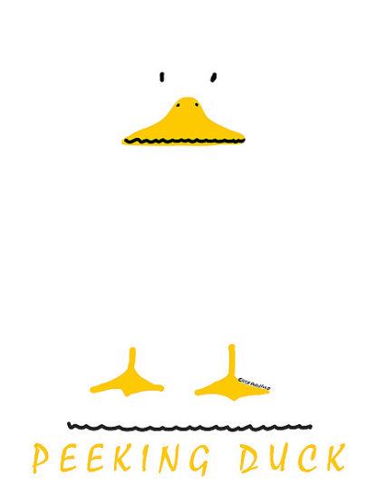 P49D - Posillico, Leo - Peeking Duck