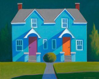 P888D - Pettigrew, Martha - Blue House