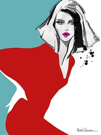 R717D - Ramdeen, Aasha - Red Dress