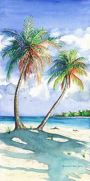 R831D - Reichow, Christine - Palm Shadows