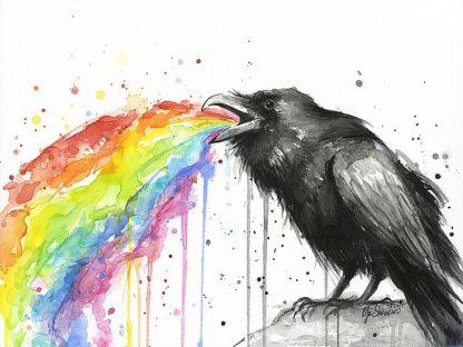 S1270D - Shvartsur, Olga - Raven Tastes the Rainbow