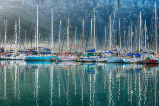 S1334D - Silver, Richard - Hout Bay Harbor, Hout Bay South Africa