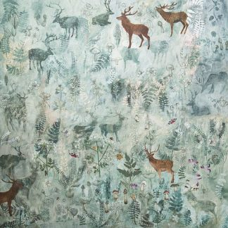 S1476D - Stacey, Dawn - Stags in Mist