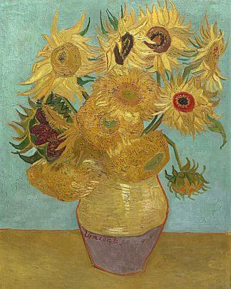 V555D - Van Gogh, Vincent - Sunflowers, 1889