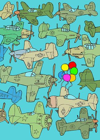 W592D - Wilson, Duncan - Odd Ones - Balloons