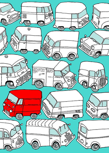 W596D - Wilson, Duncan - Odd Ones - Red Van
