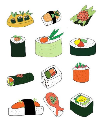 W828D - Weiss, Jan - Sushi Set