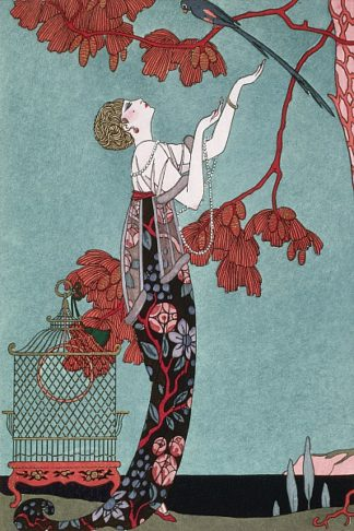 B1072D - Barbier, Georges - Fashion Illustration, 1914