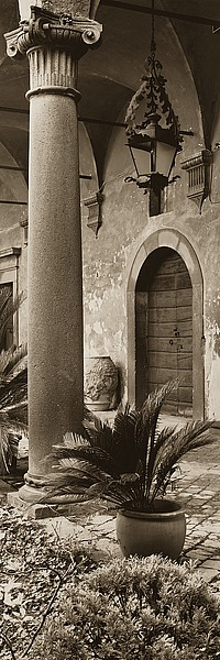 B1206D - Blaustein, Alan - Portico, Umbria