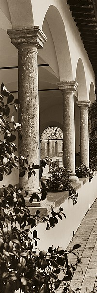 B1207D - Blaustein, Alan - Portico, Toscana