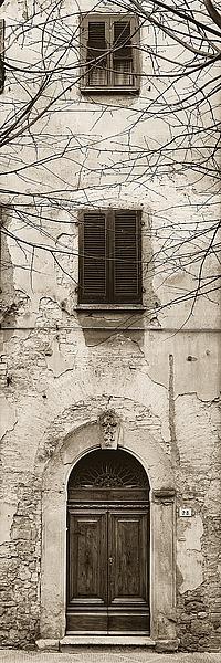 B1211D - Blaustein, Alan - La Porta Via, Volterra
