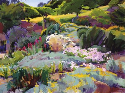 B3524D - Burtt, Marcia - Hillside Garden