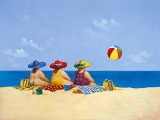 P513D - Paraskevas, Michael - Three Ladies Sunning
